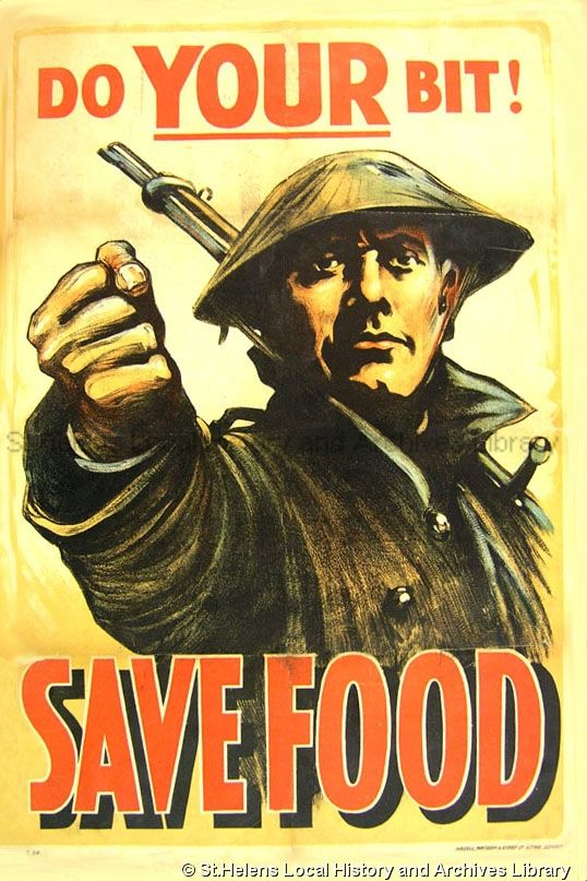 Old Fashioned War Posters