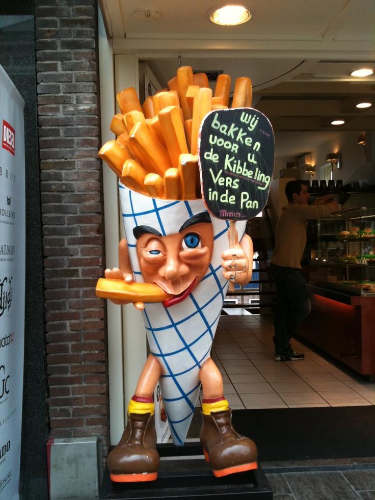 フライドポテトのキャラクター / fried potato **from Amsterdam, Holland**