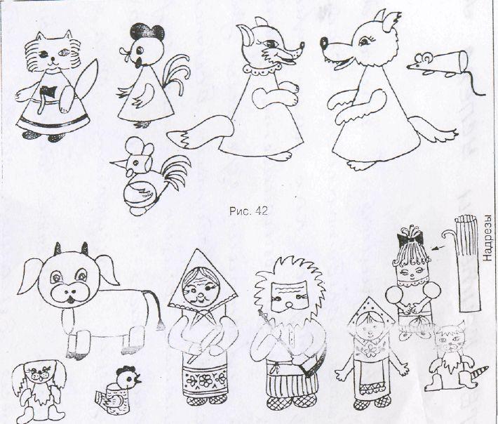 Тема 15.Виды игр в кукольный театр.Изготовление - Организация театрализованной деятельности в детском саду