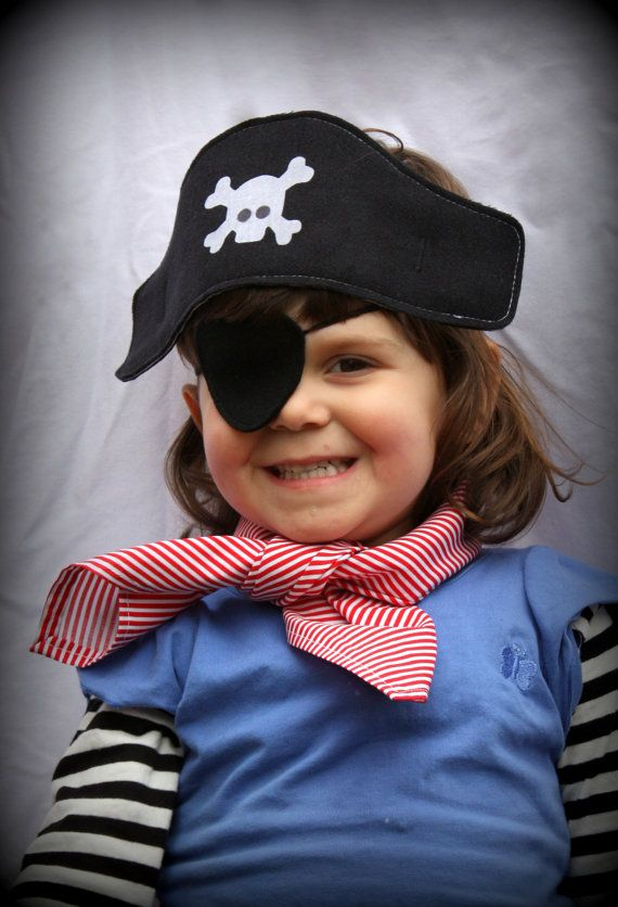 Little Red Pirate Outfit   - girl boy costume - fancy dress - halloween - party - kids costume on Etsy, $40.00 AUD