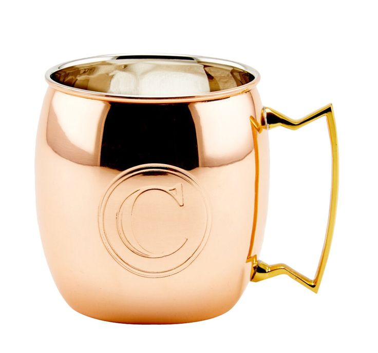 moscow mule solid copper 16 oz mug - Copper Mule Mugs