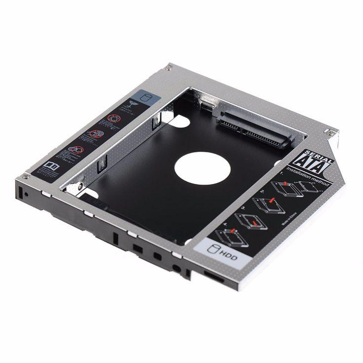 12.7mm SATA HDD SSD Hard Drive Caddy Optical DVD Bay Adapter For Asus K53SV VCQ06 P79