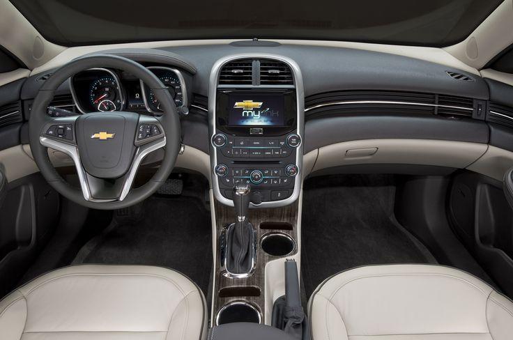 Leather interior styles in the 2015 chevy malibu | 2014 Chevrolet Malibu Photo Gallery