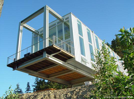 jardim vertical neorex : jardim vertical neorex:Cantilever House Construction