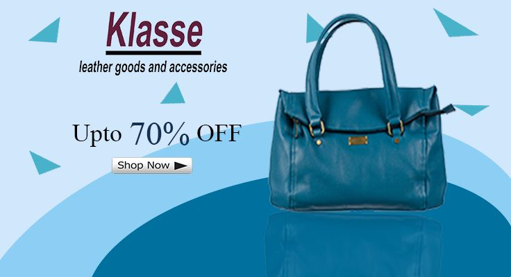 Shop exclusive and latest variety of handbags at www.klasseleather.in & get upto 70% OFF. Be Hurry!  #handbags #totebags #shoppergbags #handheldbags