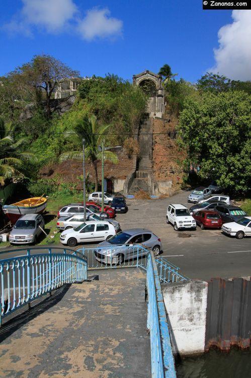 Fontaine Gueydon à Fort-de-France - Martinique.