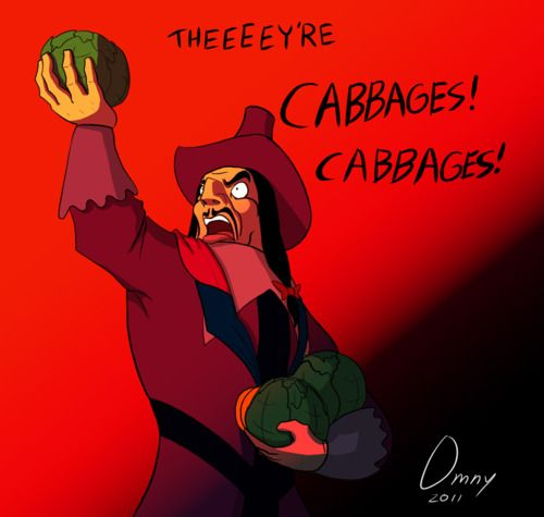 BARELY EVEN VEGGIES! LOL!!!!! Oh, my gosh, reminds me of the cabbage guy from Avatar.