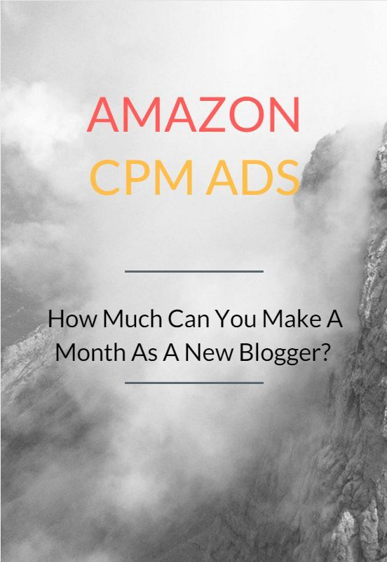 Amazon is well known among bloggers for their affiliate program where you can advertise their banners or links in your website. Apart from their affiliate system, you can earn through Amazon CPM Ads as well.