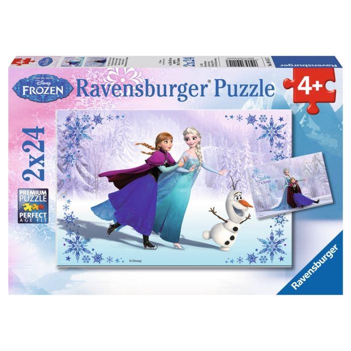 Frozen: Set of 2 24 Piece Jigsaw Puzzles. £6.95