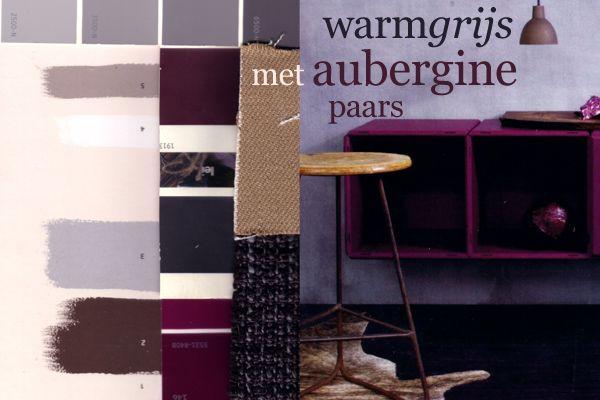 25 beste idee n over slaapkamer kleuren paars op pinterest slaapkamer kleuren schema 39 s - Lounge grijs en paars ...
