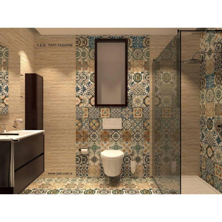 Crown Tiles   Nikea Matt Multi Colour Porcelain Tiles - Crown Tiles