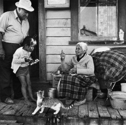 Photography Marti Friedlander. Rititia Irihei, Tuwharetoa - 1970