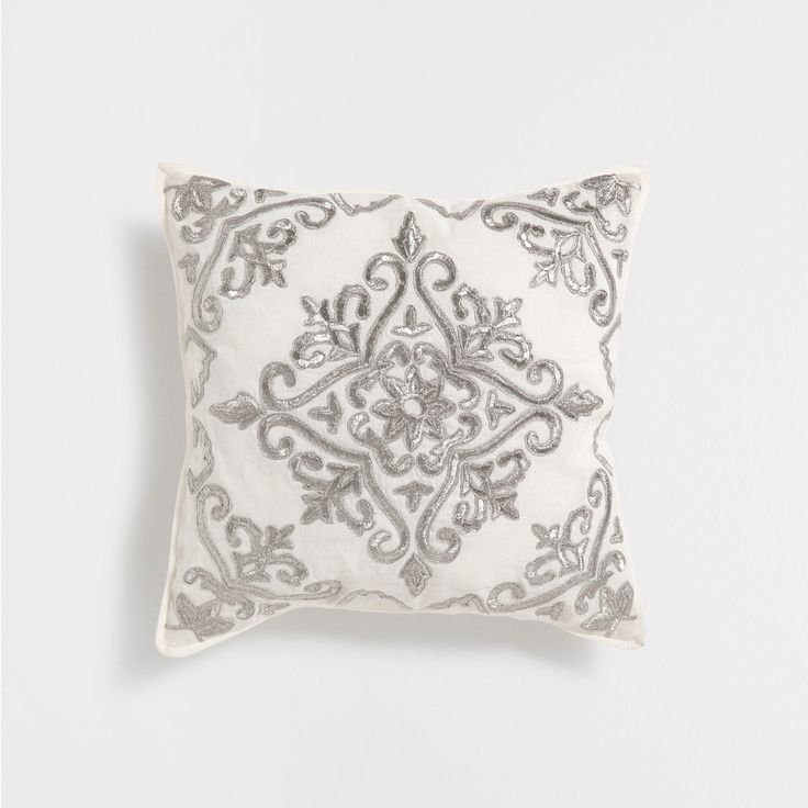 M s de 1000 ideas sobre cojines bordados en pinterest - Cojines cama zara home ...