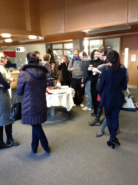 WIT Libraries Christmas Coffee Morning for staff and students.