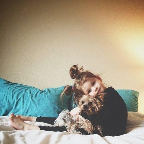 best friend cuddles