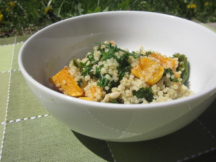 Lemon Scented Quinoa Salad