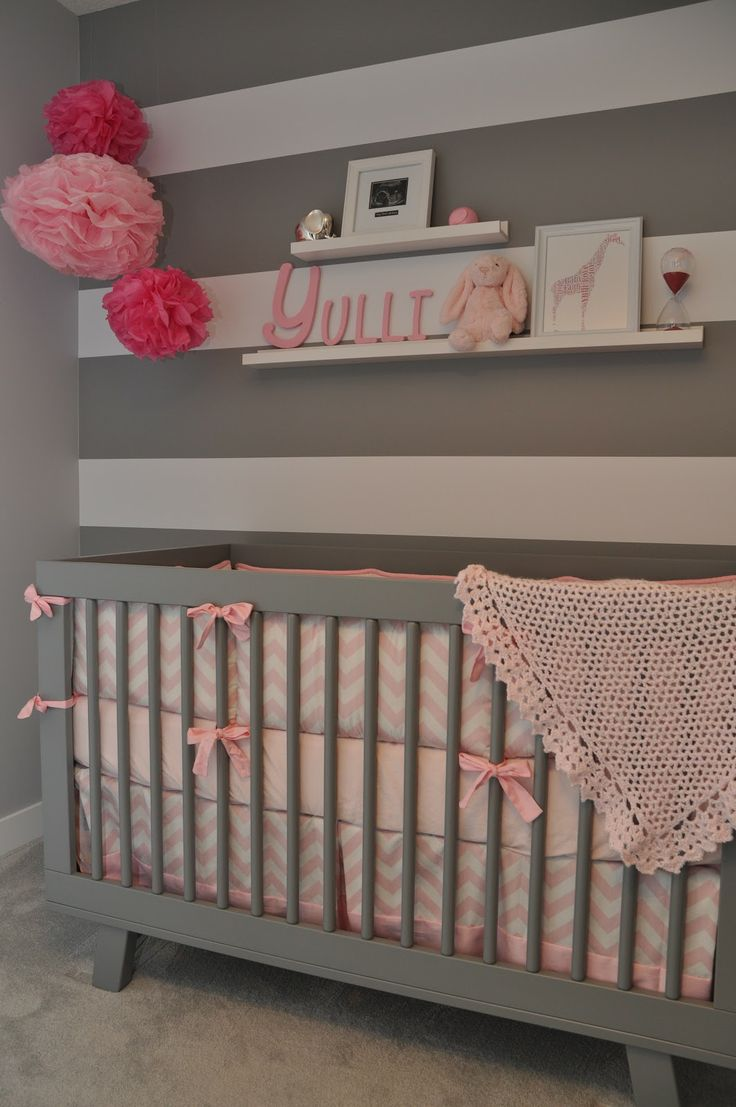 pink and grey nursery baby copeland pinterest pink