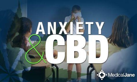 CBD for treating anxiety | Medical Cannabis/Marijuana