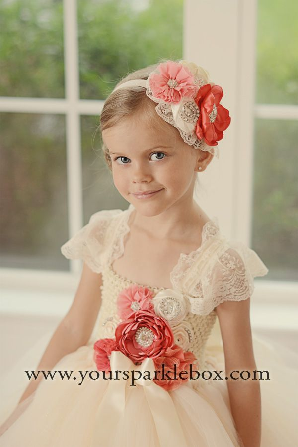 ivory coral tutu dress by yoursparklebox - Complicit Mariage Robe Cocktail