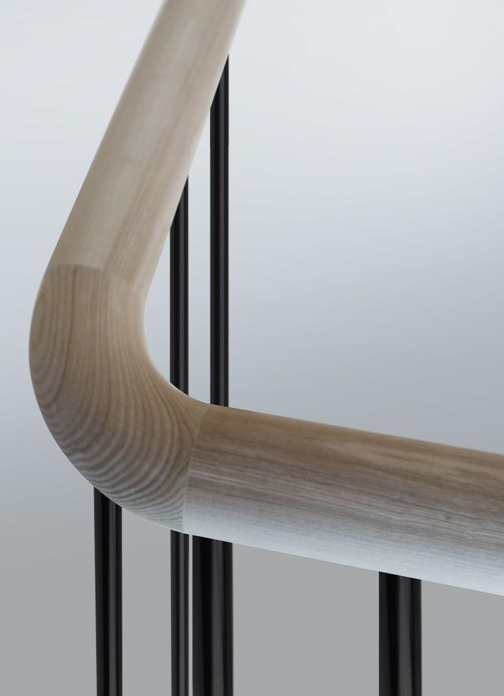 best 25 wood stair handrail ideas on pinterest wood. Black Bedroom Furniture Sets. Home Design Ideas