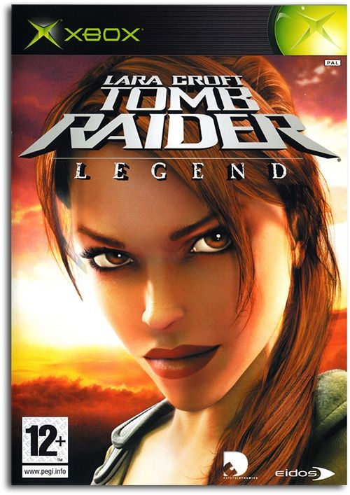 Tomb Raider: Legend Poster Xbox Game Cover Artwork