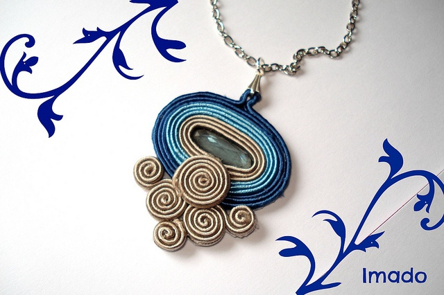 Colgante soutache by IMADO