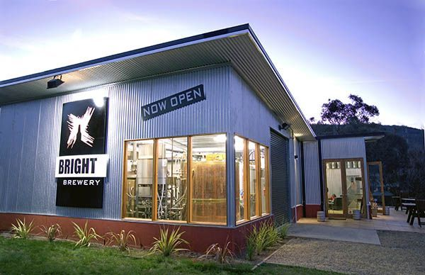 The newly renovated #BrightBrewery is located in the beautiful town of Bright in the stunning Victorian High Country. #Bright #food #wine #beer