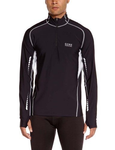 Gore Running Wear Mens Mythos Thermo Shirt BlackAlum Grey XLarge -- Continue to the product at the image link.(This is an Amazon affiliate link and I receive a commission for the sales)