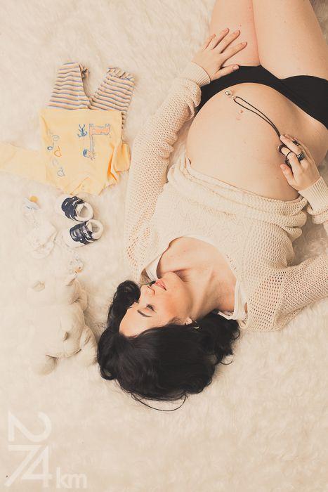 {Fotografía de embarazo} Eva