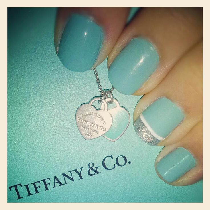 Best 25 tiffany nails ideas on pinterest shapes of acrylic tiffany nails prinsesfo Images