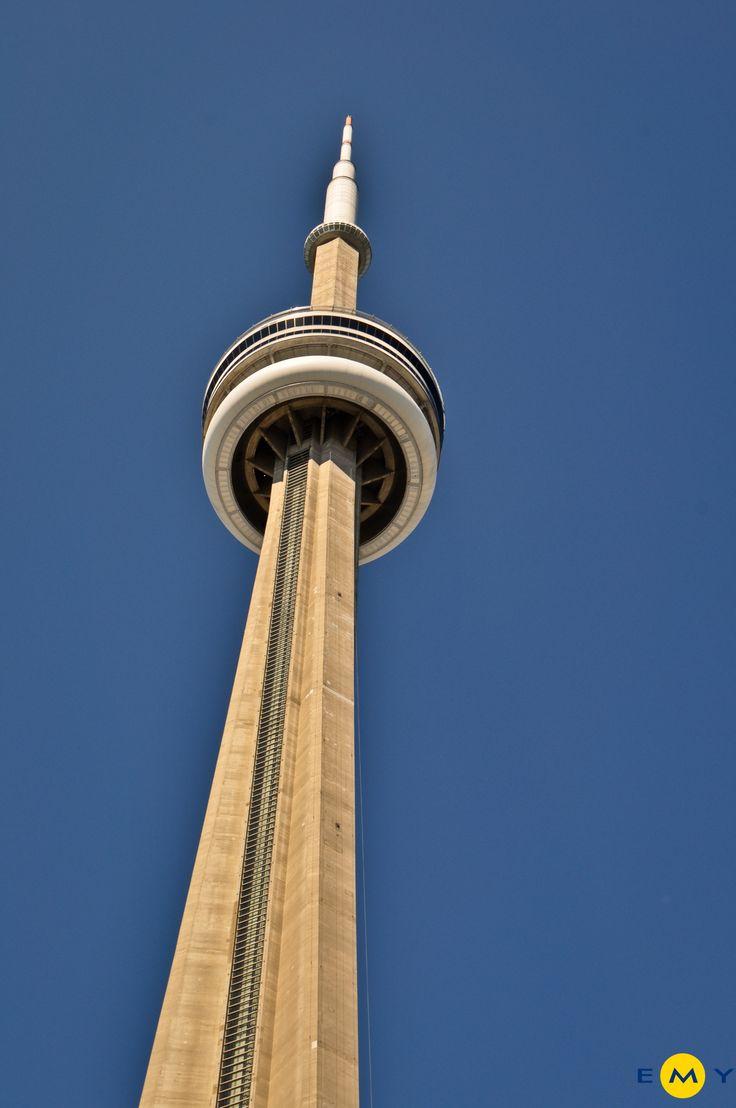 EMY Cursos en el extranjero #EMY #CursosIngles #Canadá #Toronto #CNTower