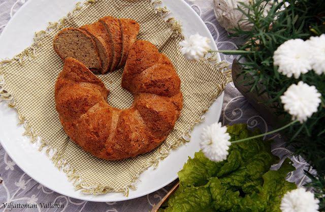 Viljattoman Vallaton: Gluteeniton leipä rengasvuoassa