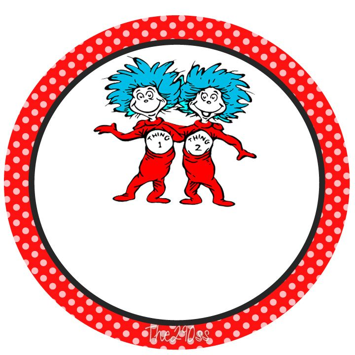 The Cat in the Hat Free Printables