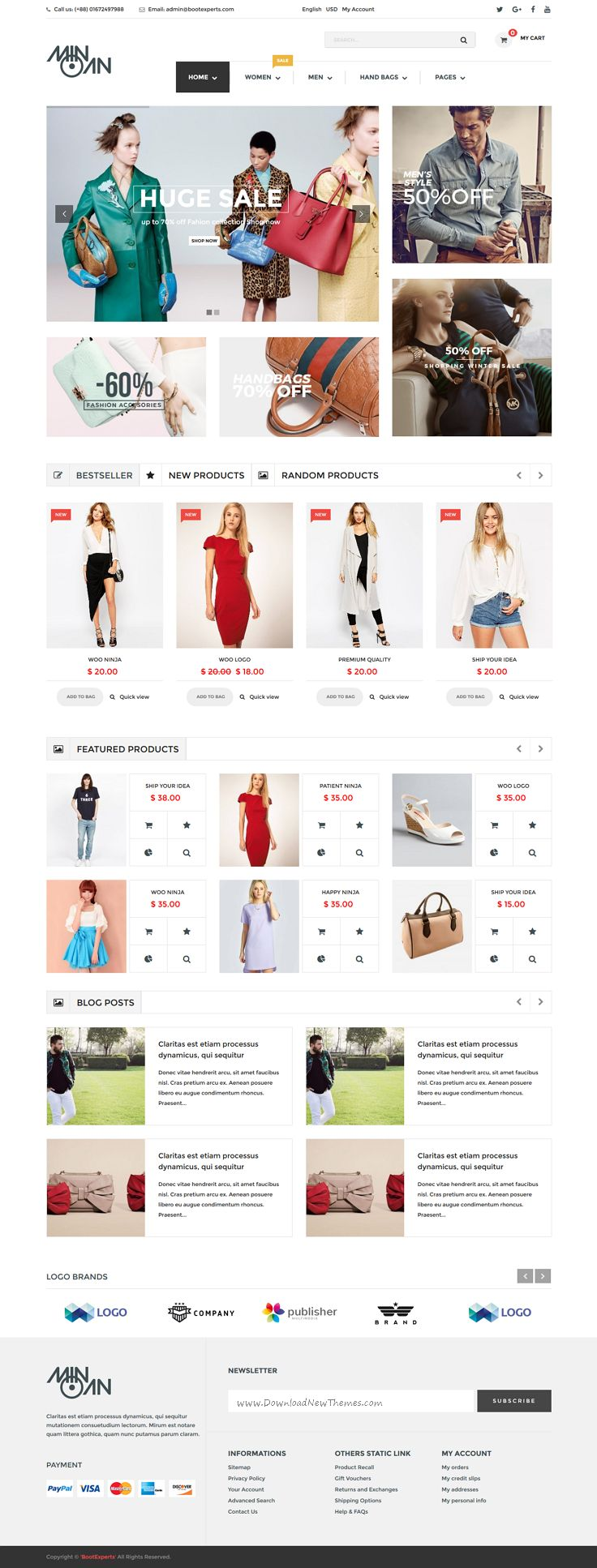 Minoan is a clean and elegant design WordPress WooCommerce Theme for multipurpose eCommerce website with 6+ stunning homepage layouts. Download Now➝ https://themeforest.net/item/minoan-fashion-woocommerce-theme/15766843?ref=Datasata