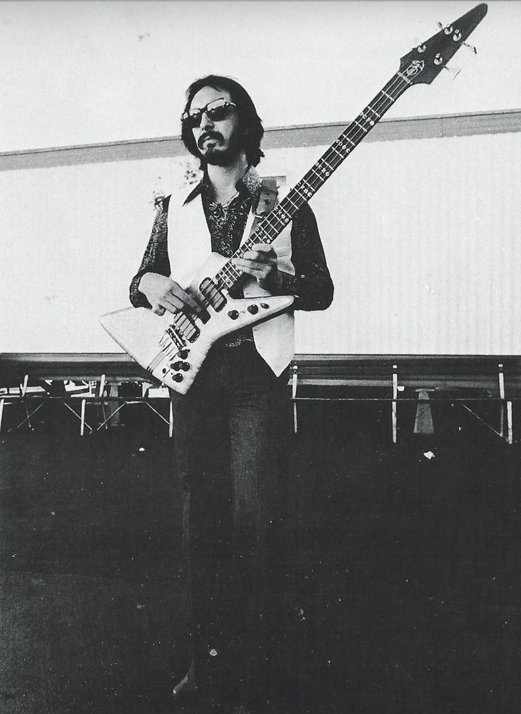 On bass...John Entwistle. Best bassist ever