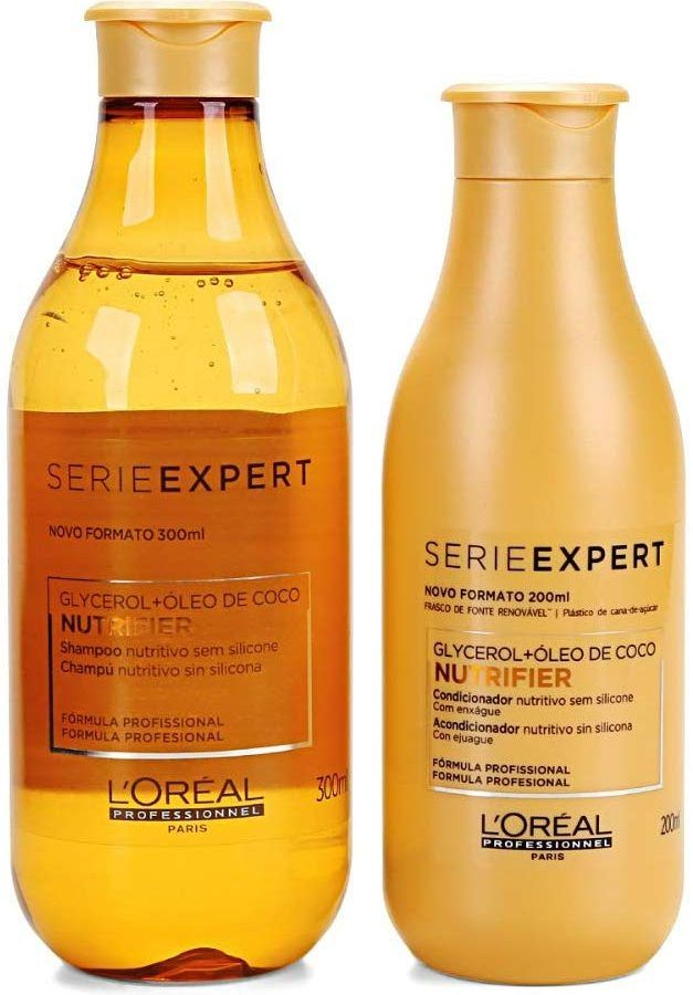 Loreal Expert Kit Nutrifier Shampoo 300ml E Condicionador 200ml Em