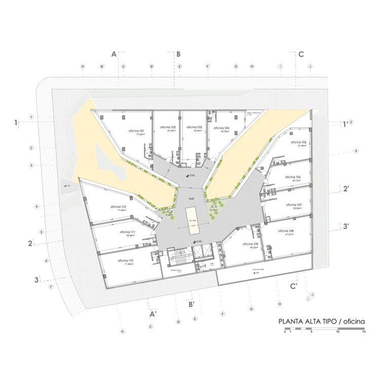 Galería de Edificio Halcón / TEC - Taller EC - 11