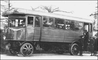 Škoda Sentinel. Verze Autobus.