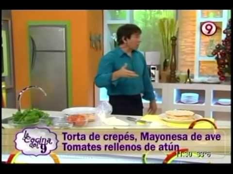 torta de crepes y tomates rellenos de atun https://www.facebook.com/notes/ariel-rodriguez-palacios/torta-de-creps-mayonesa-de-ave-tomates-rellenos-de-at%C3%BAn/683793134984565