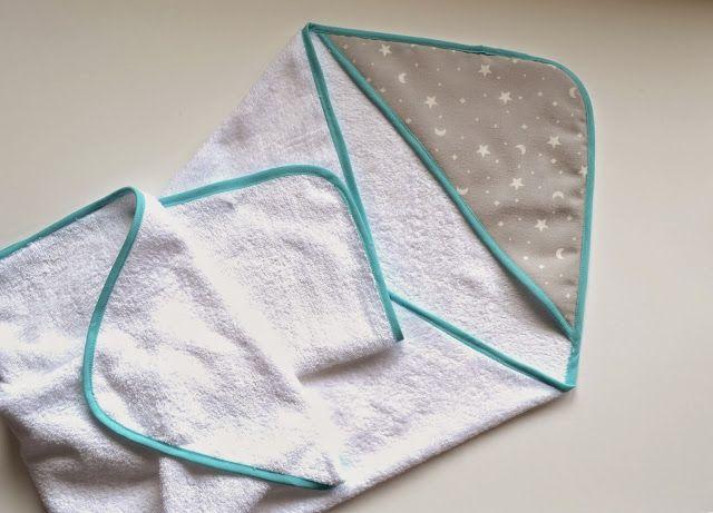 Cómo hacer una toalla o capa de baño para bebé con capucha   El Rincon de Fri-Fri
