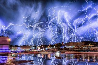 Electric Storm over Johannesburg.