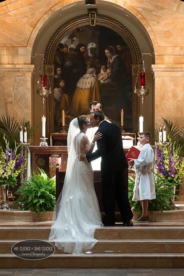Epiphany Catholic Church Normal IL wedding