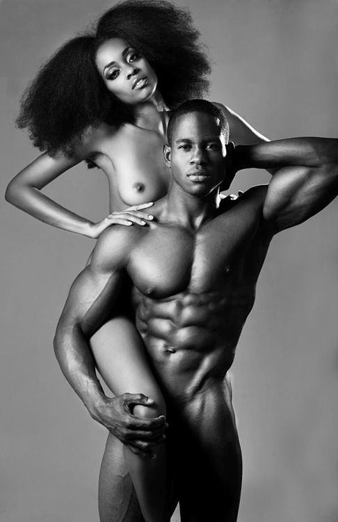 sexy couples naked black and white