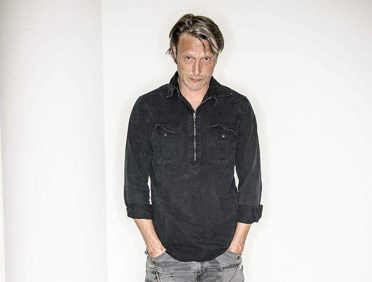 Mads Mikkelsen, skuespiller. Foto: Ikke oplyst