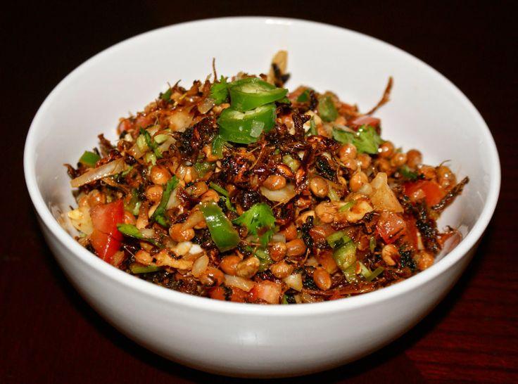 Gundruk and Bhatmas Sadeko Recipe!Nepali Tummy