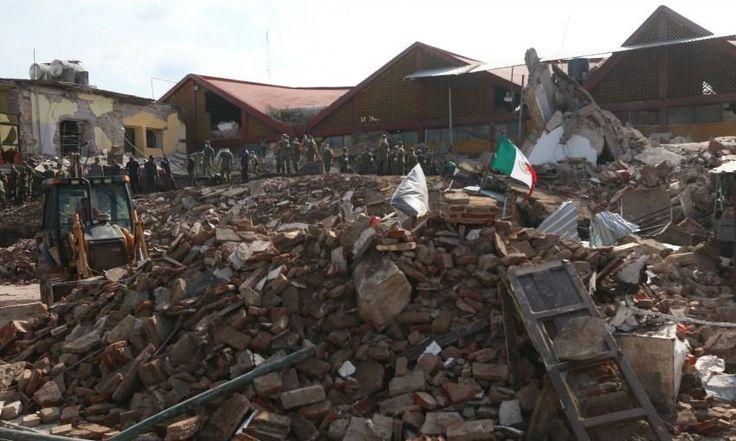 Sismo derriba casas, bardas y un hotel en región Istmo de Oaxaca (Fotos) - Aristegui Noticias