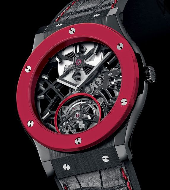 News: Hublot Red'n'Black Skeleton Tourbillon Only Watch 2013 | Watches By SJX