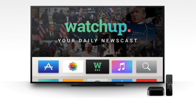 Watchup Brings Local National & International News To Your Apple TV #Startups #Tech