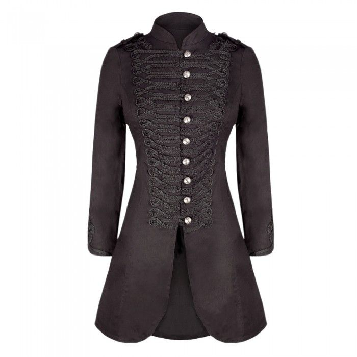 http://www.corset-story.com/long-black-military-style-wool-coat-hr929-black.html