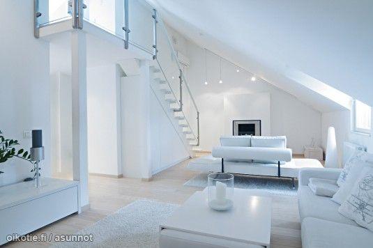 Myytävät asunnot, Mechelininkatu 27 Etu-Töölö #loft #ullakkohuoneisto #oikotieasunnot
